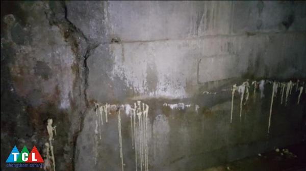Chống thấm tầng hầm không hiệu quả